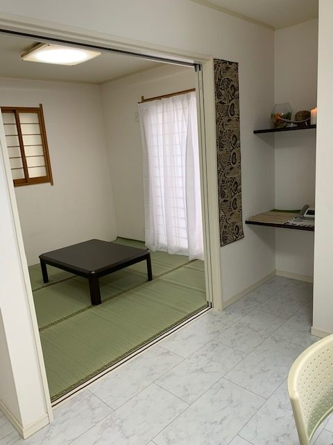 1階 指導訓練室内 和室